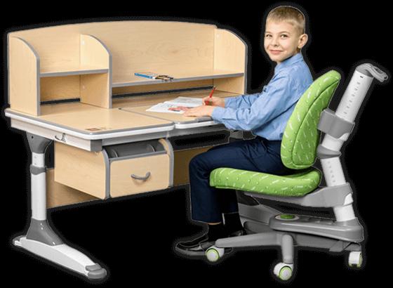 Biurko regulowane dla ucznia Ergodesk