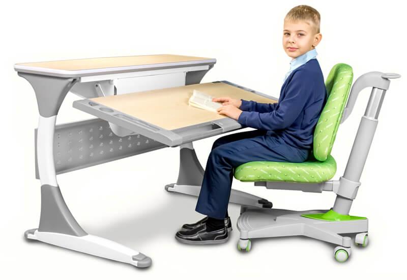 Wygodna pozycja - biurka regulowane Ergodesk