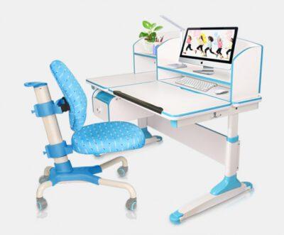 Kącik do nauki z regulowanym biurkiem dla dziecka