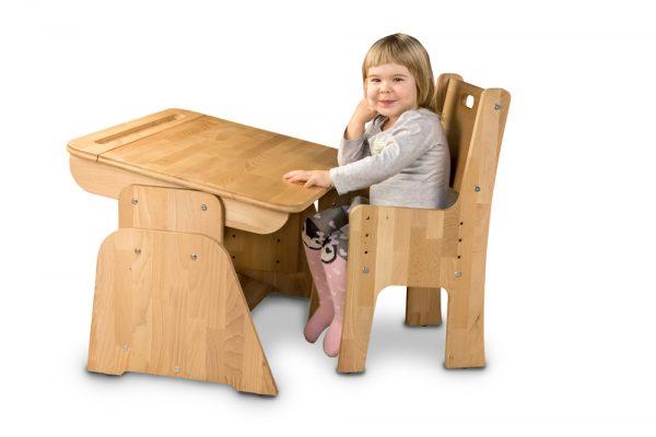 Biurko do pokoju małego dziecka - Ecodesk B-170
