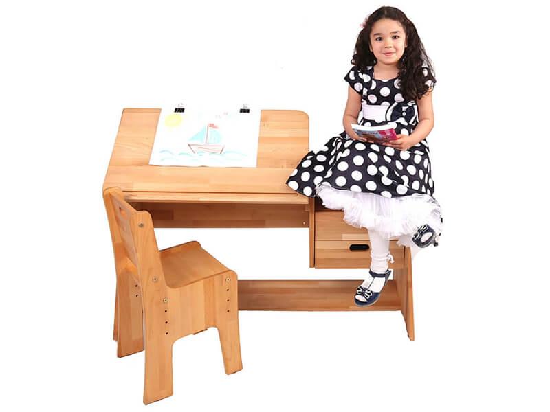 Krzesło i biurko dla dziecka Ecodesk E-112