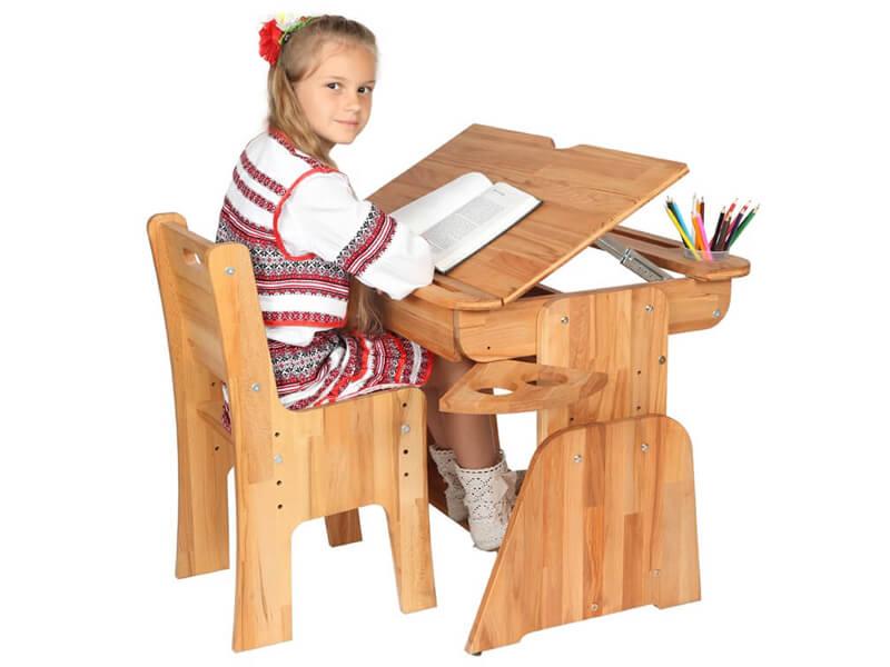 Ecodesk E-170 - prawidłowa pozycja przy biurku