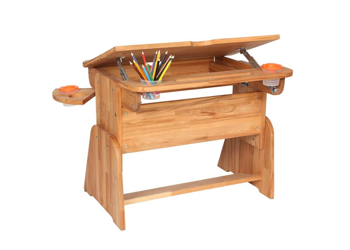 Przybornik wmontowany w biurku Ecodesk E-170