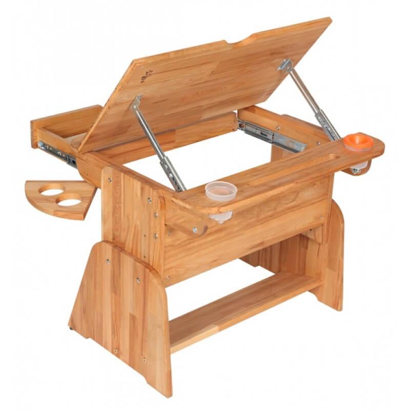 Konstrukcja pulpitu w biurku Ecodesk E-170