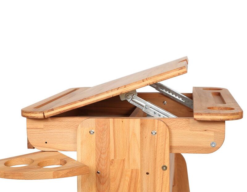 Widok profilowy- biurko dziecięce E-170