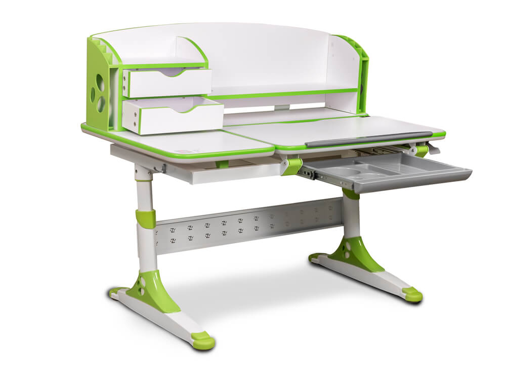 Biurko dla dzieci Ergodesk Bologna - wersja z nadstawką
