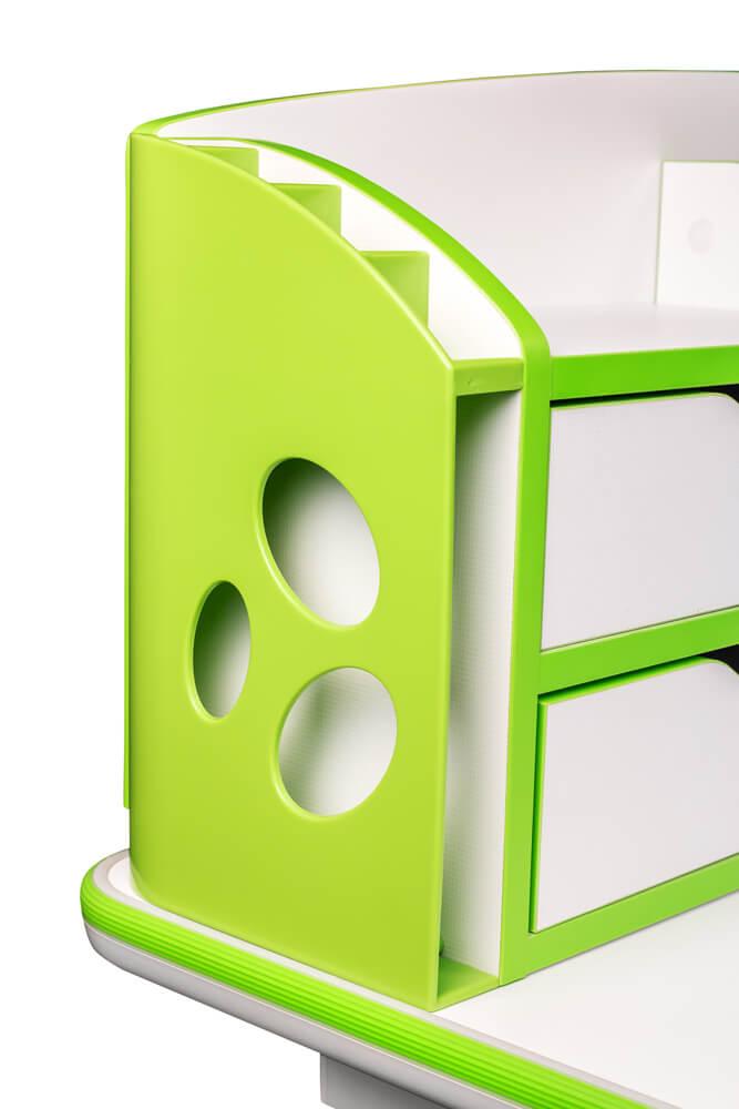 Designerskie wykończenie - biurko regulowane Ergodesk Bologna