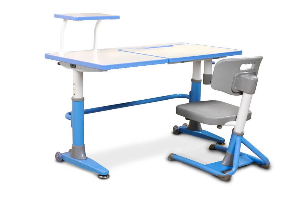 Bardzo dobra Komplet biurko regulowane Ergodesk Ferrara z fotelem Bakalawr AO76