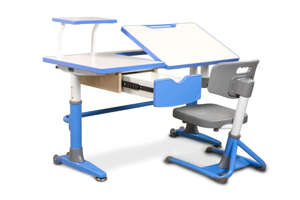 Szuflada i blat biurka dziecięcego Ergodesk Ferrara