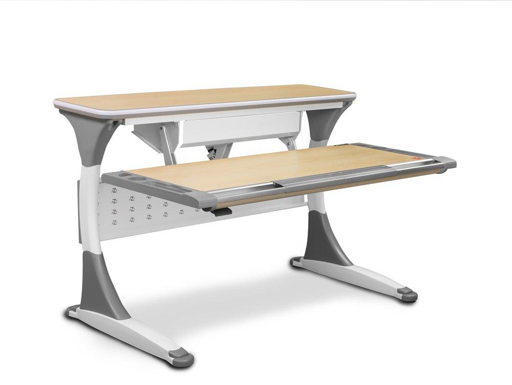 Regulowany pulpit w biurku dziecięcym Ergodesk Palermo