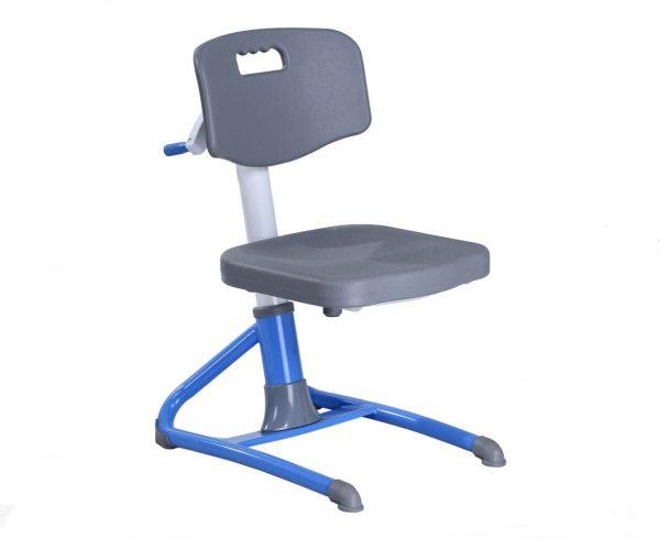 Widok poglądowy - fotel regulowany dla dzieci Bakalawr Ergodesk