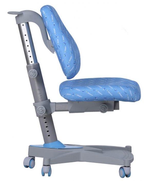 Widok z profilu - krzesło do biurka dla dzieci Ergodesk Leader