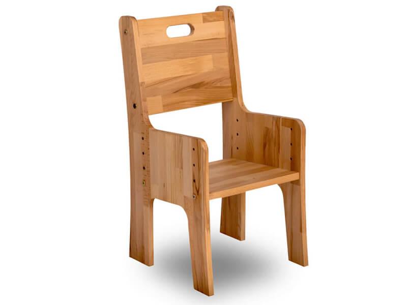 Krzesło o powiększonych wymiarach - Ecodesk C-330
