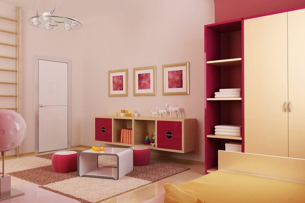pokój dziecka idealne miejsce na regulowane biurko